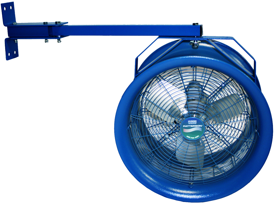 High Velocity Industrial Fans : Quot high velocity industrial fans patterson